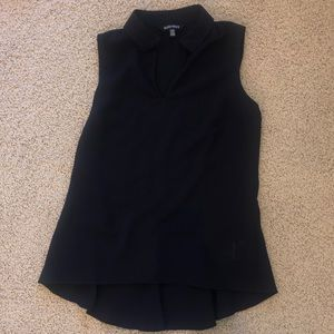 Ellen Tracy Sleeveless blouse-XS